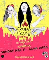 Camp Cope • Thin Lips • Oceanator