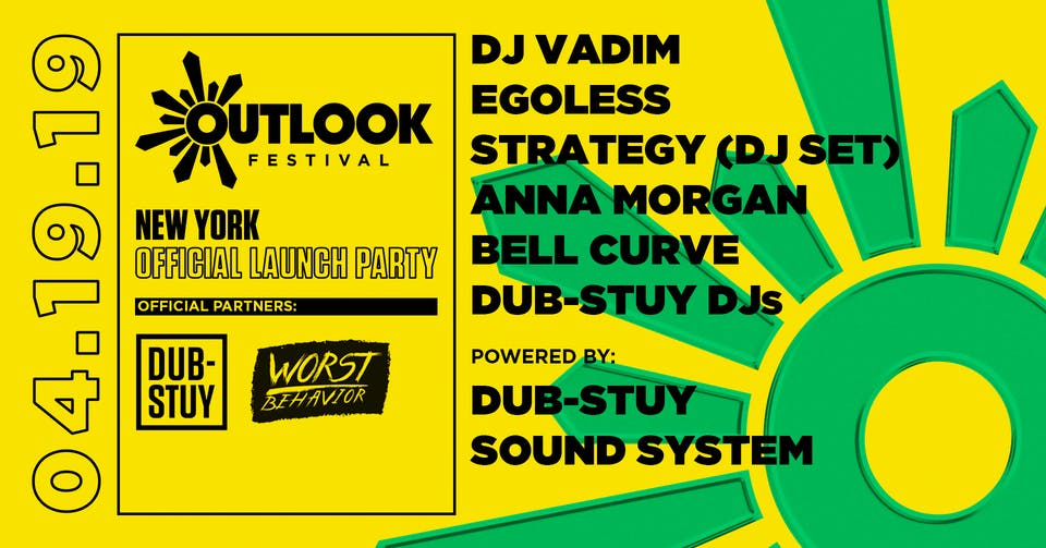Outlook Festival: New York Official Launch Party