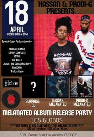 Hassan & Prodi-G Melanated Album Release Party