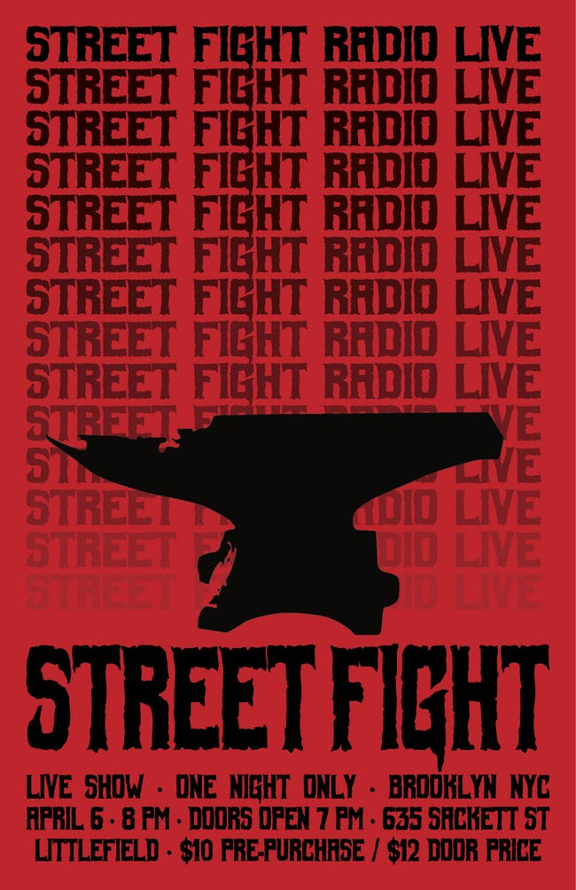 Street Fight Radio: Live