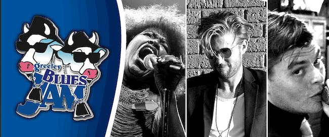 Greeley Blues Jam - Friday Night Kick-Off Party at Moxi Theater