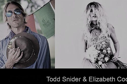 Todd Snider with Elizabeth Cook at the Folly Theater