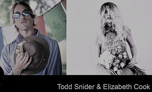 TICKETS AVAILABLE @ DOOR for Todd Snider with Elizabeth Cook @ Folly Theater