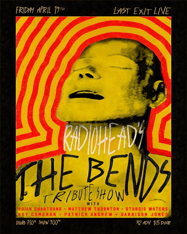 """THE BENDS"" Tribute Show"