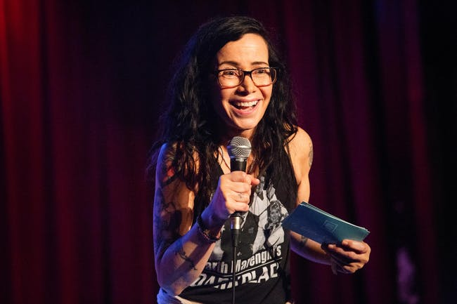 Janeane Garofalo Has Guests
