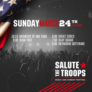 SALUTE THE TROOPS THREE DAY PASS