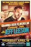Jeff Leeson's Grandma Used To Heckle Me Tour
