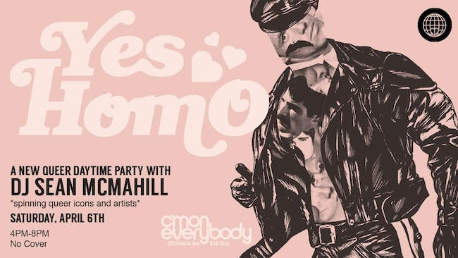 YES HOMO *a queer daytime dance party*