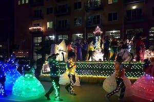 Fiesta Flambeau Parade Viewing