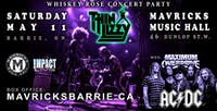 THIN LIZZY & AC/DC Maximum Overdrive Concert Party!
