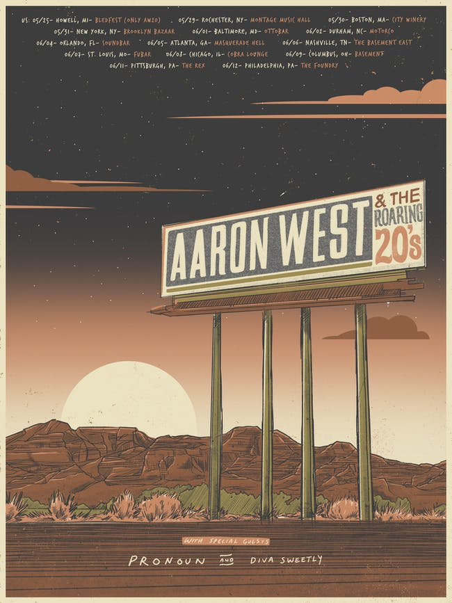 Aaron West & The Roaring Twenties, Pronoun, Diva Sweetly