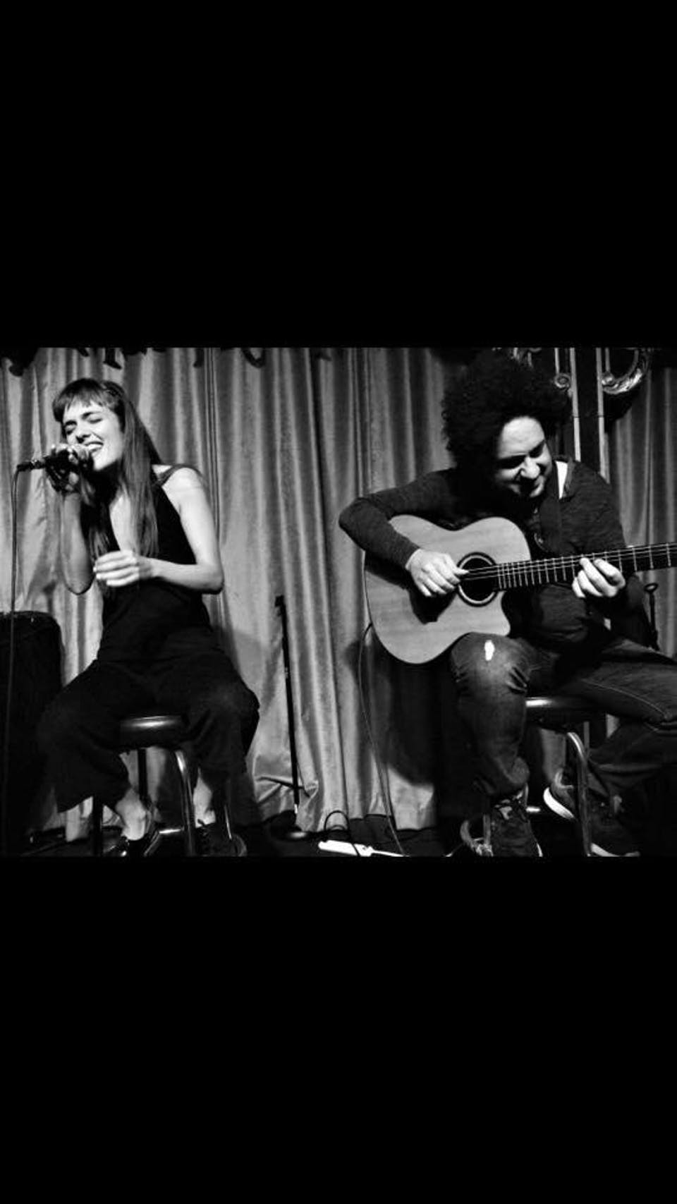Camille Bertault and Diego Figueiredo Duo