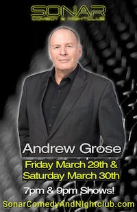 Andrew Grose Comedy - Friday March 29th - 9pm Show!
