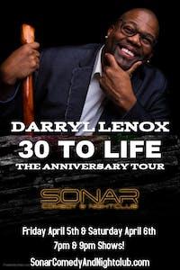 Darryl Lenox Comedy - Saturday April 6th - 7pm Show!