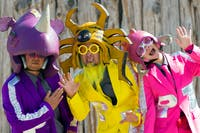 Peelander-Z, Me Like Bees, Birthday Suits