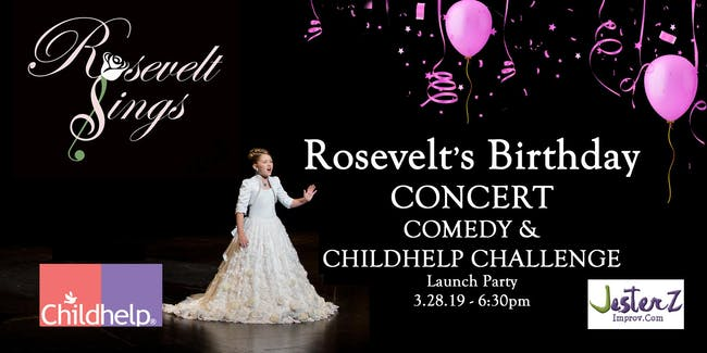 Concert, Comedy & #RoseveltsChallenge Launch Party