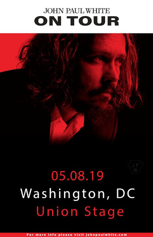 John Paul White (and his band)with special guest The Prescriptions.