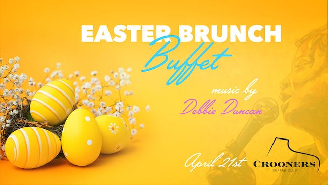 Crooners Easter Brunch Buffet