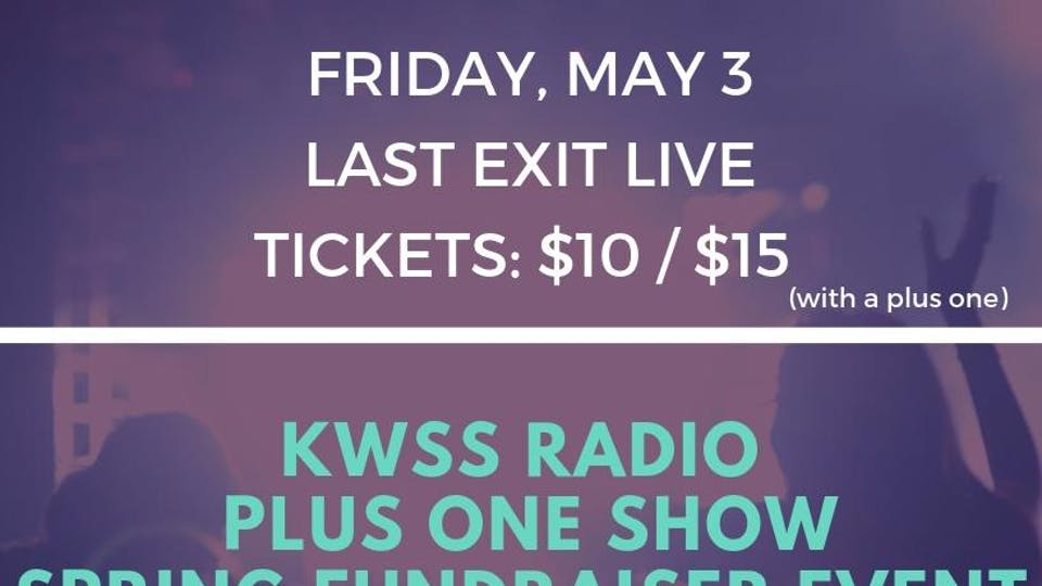 """""""Plus One Show"""" - KWSS Spring Fundraiser"""