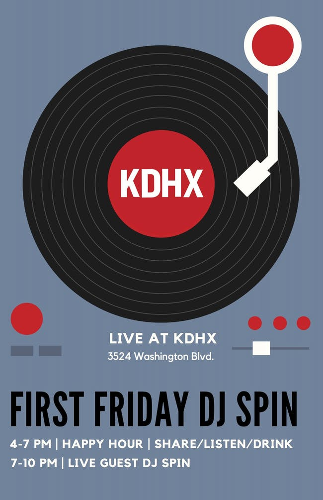 First Friday DJ Spin with  Jennifer and Corey Piper