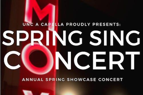 UNC A Capella Spring Sing Concert