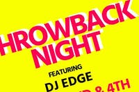 Throwback Night w DJ Edge