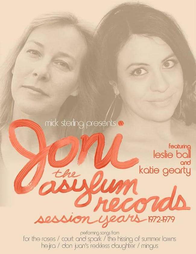 JONI - A Tribute to the Asylum Records Session Years - No Cover!