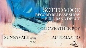 SOTTO VOCE Record Release Show