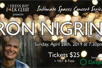 Intimate Concert Series: Ron Nigrini