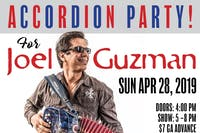 Accordion Party for Joel Guzman