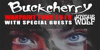 BUCKCHERRY Warpaint Tour 2019 w/ Joyous Wolf & Starsik!