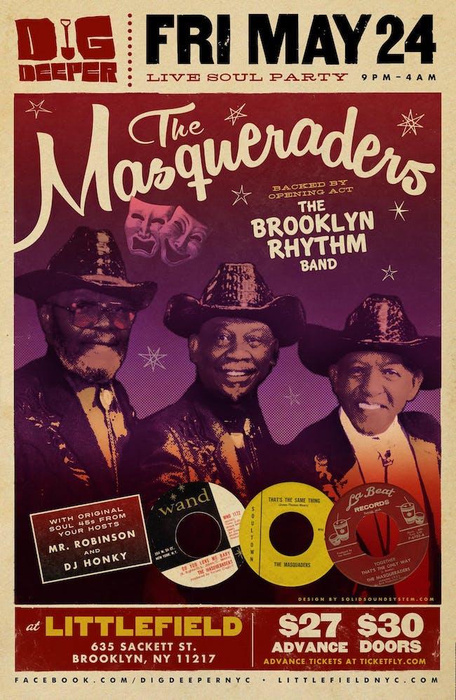 Dig Deeper presents: The Masqueraders