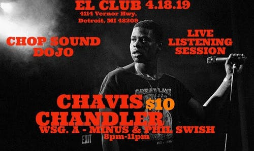 Chavis - live listening session