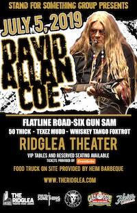 David Allan Coe at Ridglea Theater