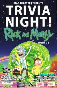 Rick and Morty Trivia Night
