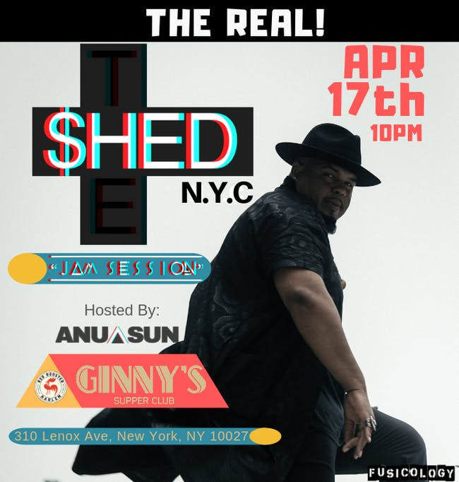 The Shed: Hosted by Anu Sun