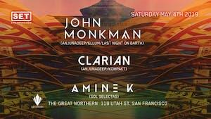 Anjunadeep's John Monkman + Clarian & Amine K (Sol Selectas)