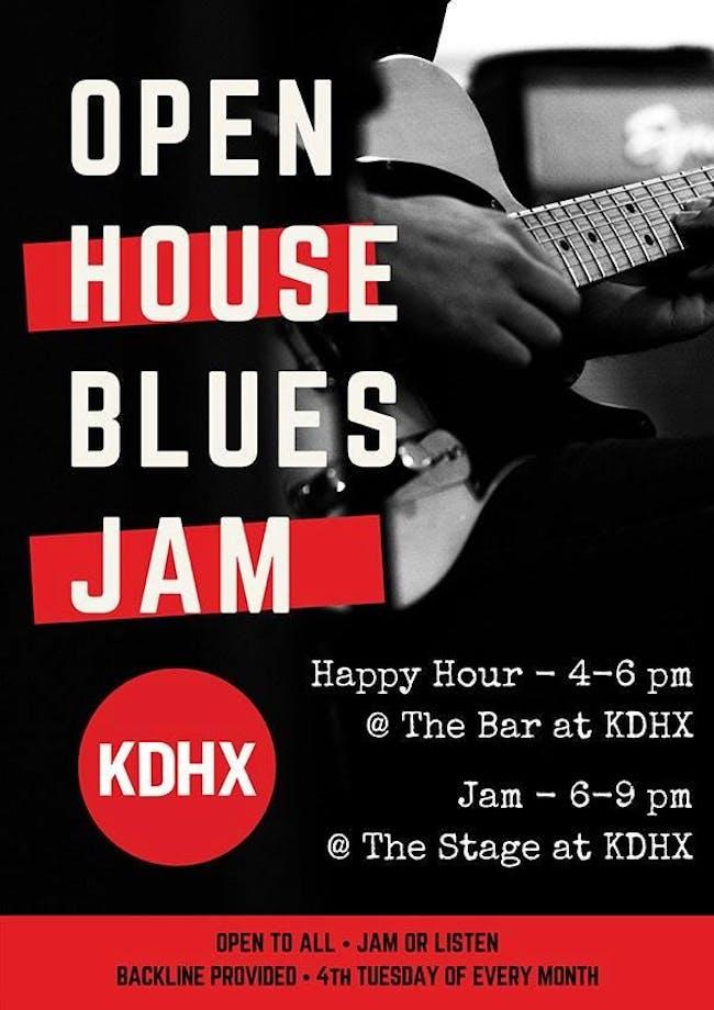 Open House Blues Jam w/ Marty D.