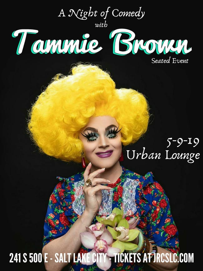 Tammie Brown *Seated Comedy Show*