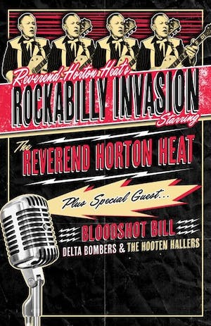 Reverend Horton Heats Rockabilly Invasion