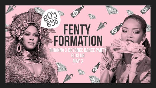 Fenty Formation: Rihanna X Beyoncé Dance Party