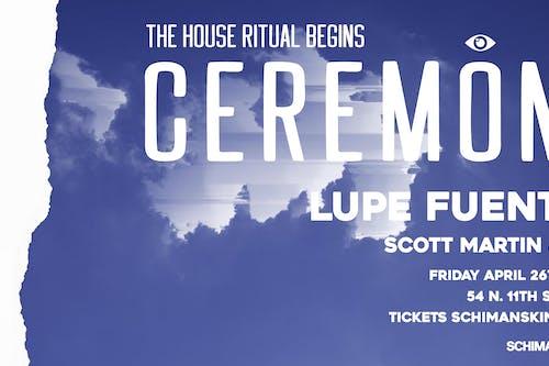 Ceremony: Lupe Fuentes, Scott Martin & RAF