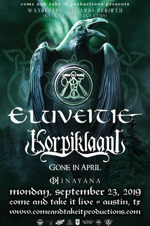 ELUVEITIE & KORPIKLAANI: Wanderers Towards Rebirth Tour