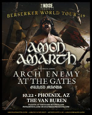 The Noise Presents - Amon Amarth Berserker Tour