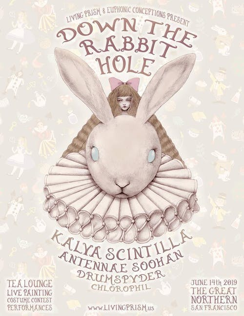 Down the Rabbit Hole SF w/ Kalya Scintilla, AnTenNae, SOOHAN + More!