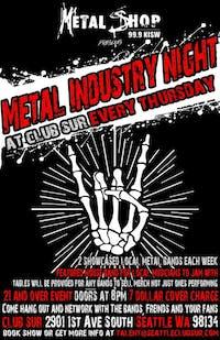 Metal Industry Night w/ Greater Space/Rain Delay /Ryan Amir /DJ Starr