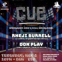 CUE featuring Rheji Burrell & Don Play