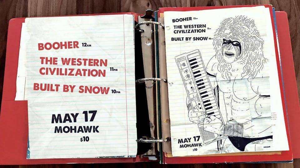 Booher, The Western Civilization, and  Built By Snow @ Mohawk (Indoor)