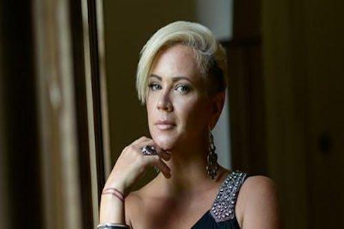Lauren Mitchell in the Gospel Lounge