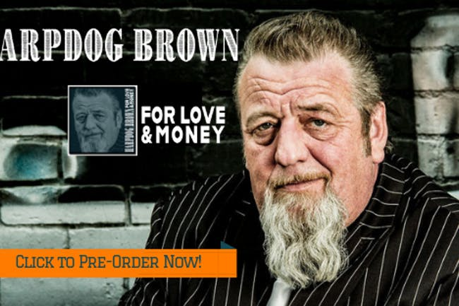Harpdog Brown  & The Uptown Blues Band